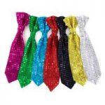 P3065 Star Sequin Tie