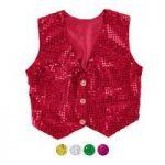 P3062 Star Sequin Waistcoat