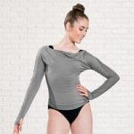 Capezio Long Sleeved Boatneck Top